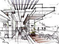 مفاهیم کلیدی پرسپکتیو در معماری- درس سوم