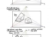 مفاهیم کلیدی پرسپکتیو در معماری- درس اول
