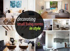 ایده طراحی فضاهای کوچک- Small Space Decorating Ideas